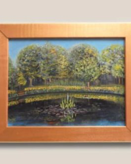Reflection in the Pond – Oil Painting